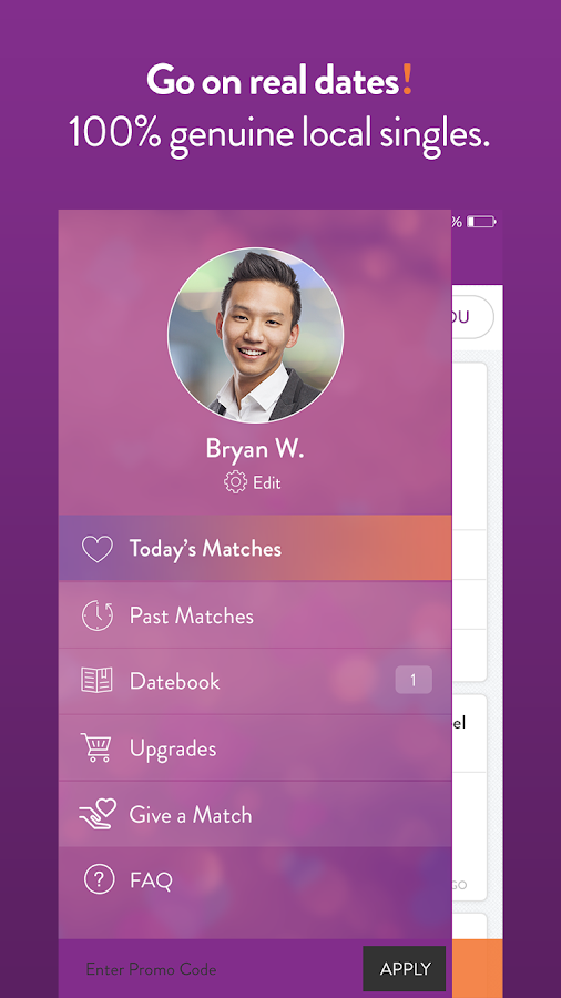 LunchClick - Free Dating App Screenshot