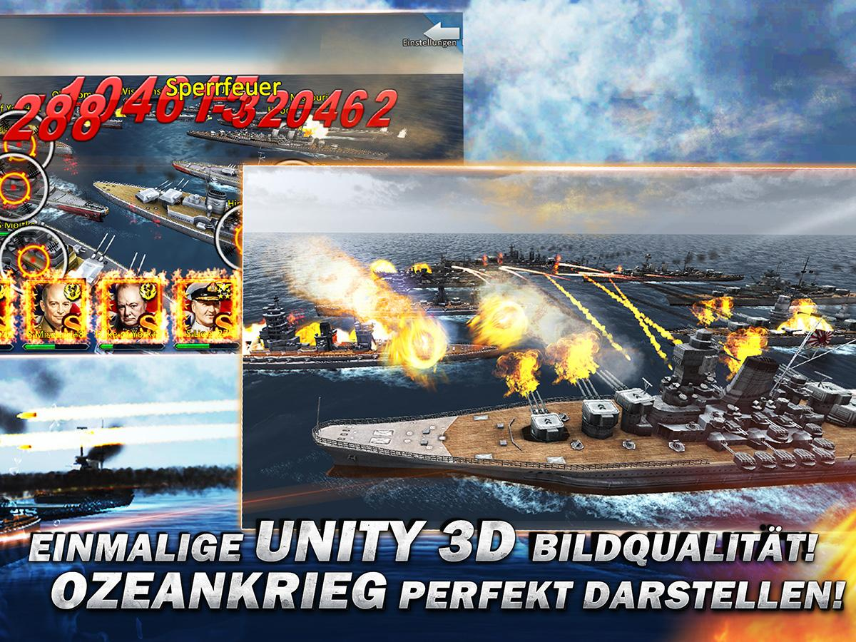 Thunder Fleet-Deutsch 3D Screenshot 1