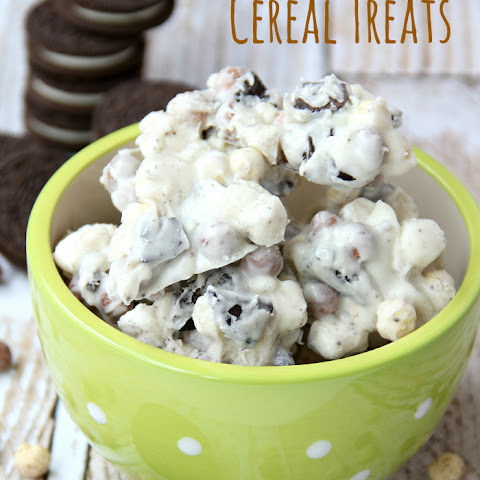 Cookies & Cream Cereal Treats