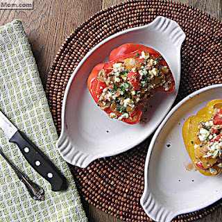 Mediterranean Tuna Stuffed Pepper