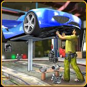 Game Flying Car Mechanic Workshop APK for Kindle