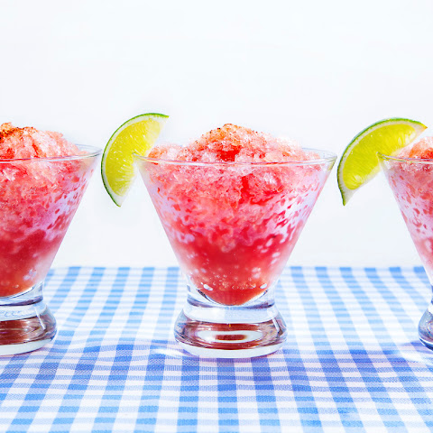 Watermelon-Jalapeño Shaved Ice