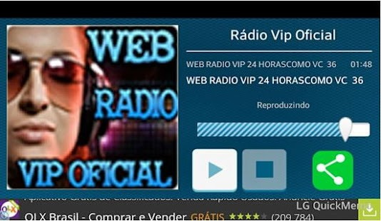 Rádio Vip Oficial - screenshot