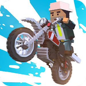 Blocky Moto Bike SIM 2017 APK Cracked Download
