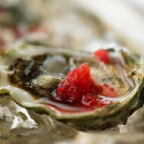 Oysters with Mignonette Granité
