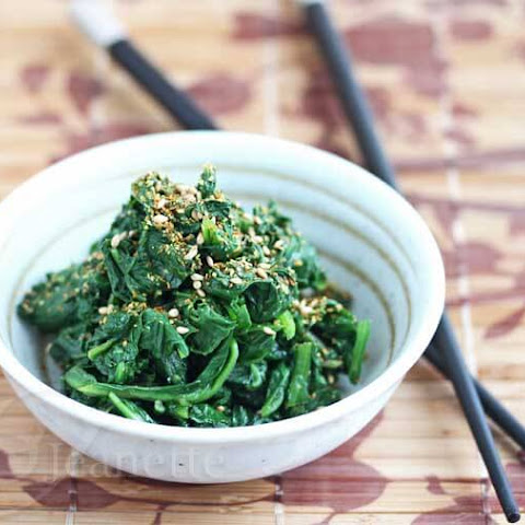Sesame Spinach Recipe (Power Food)