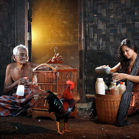 Traditional Drug  by Achepot Chepot - People Fine Art