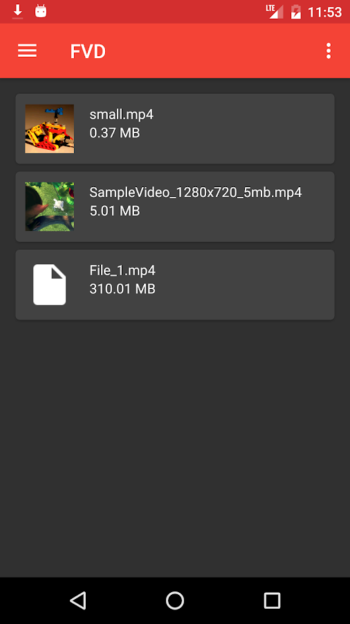 FVD - Free Video Downloader – Screenshot