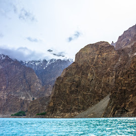 by Muhammad Awais - Landscapes Mountains & Hills ( atta-abad lake )
