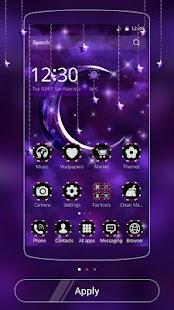 APK App Moon Night Theme Purple moon for BB, BlackBerry