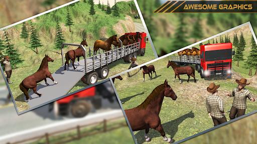 Horse Transport Truck Sim 19 -Rescue Thoroughbred screenshot 8