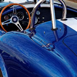 Blue Dream by Raphael RaCcoon - Transportation Automobiles ( car, blue, automobile, sports, auto )