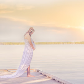 A mother's Love by Brenda Suhr - People Maternity ( maternity, fineart, photosbybrendasuhr )