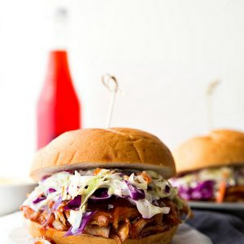 Crockpot Sweet Pulled Pork Sandwiches