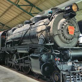 PRR steamer by Ray Stevens - Transportation Trains