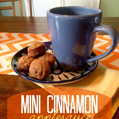 Mini Cinnamon Applesauce Muffin