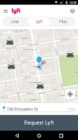 Screenshot of Lyft - Taxi & Bus Alternative