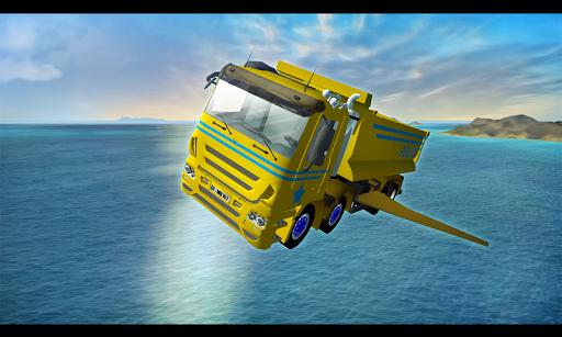 Game of Flying: Police Truck - screenshot
