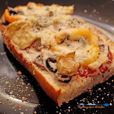 Vegetable French Bread Pizzas