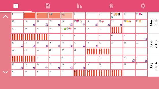 Download WomanLog Calendar APK for Laptop