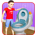 Kids Toilet Emergency Sim 3D