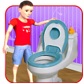 Free Download Kids Toilet Emergency Sim 3D APK for Samsung