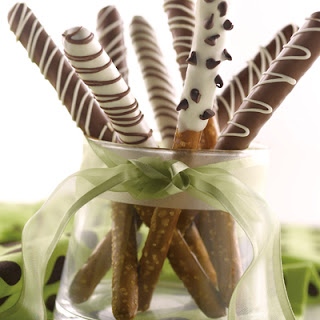 Crazy Dipped Pretzel Rods