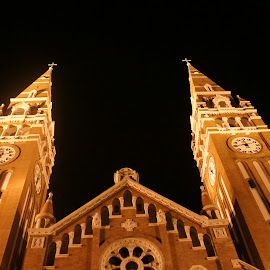 Cathedral in Szeged by Luboš Zámiš - Buildings & Architecture Places of Worship