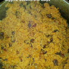 Traditional Puerto Rican Rice Recipe Arroz con Gandules