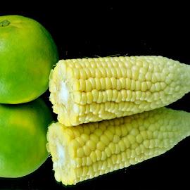 Corns by SANGEETA MENA  - Food & Drink Fruits & Vegetables