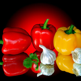 Capsicums by Asif Bora - Food & Drink Fruits & Vegetables (  )