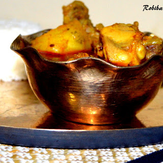 Robibarer Murgir Jhol from my Mother's Kitchen!