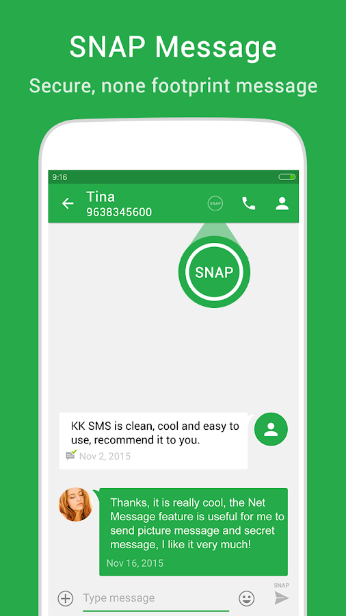 KK SMS - Cool & Best Messaging Screenshot 6