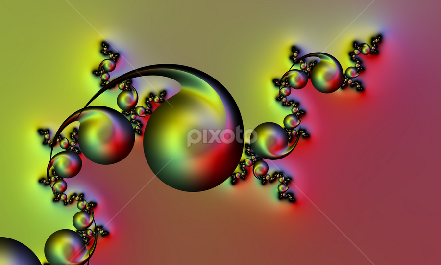 by Cassy 67 - Illustration Abstract & Patterns ( abstract, bubble, swirl, wallpaper, digital art, bubbles, harmony, spiral, fractal, digital, fractals, energy )