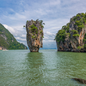 The James Bond Island by Charliemagne Unggay - Landscapes Caves & Formations