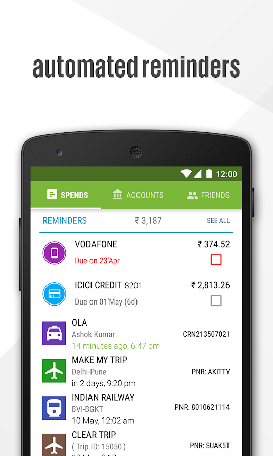 Walnut Money Manager Screenshot 3