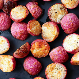 Crispy Roasted Radishes