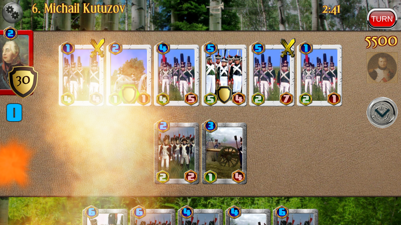 Napoleon War Cards Screenshot 12