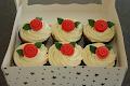 Single Fondant Rose Cupcakes