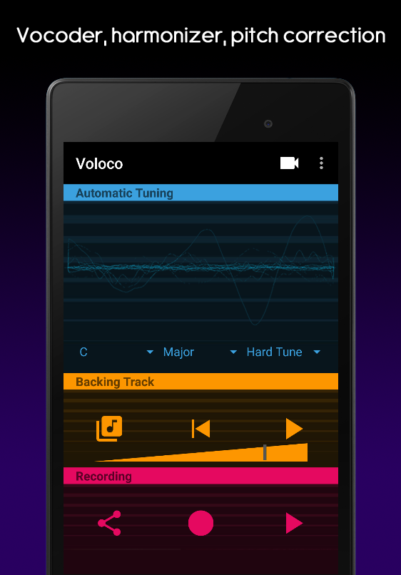 Voloco: Auto Tune + Harmony Screenshot 8