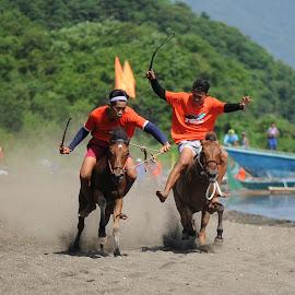 Horse race by Jeremy Mendoza - Sports & Fitness Other Sports ( volcano_sport, race, sports, culture, horse_race,  )