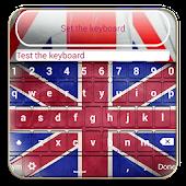 UK Flag Keyboard Themes APK for Bluestacks