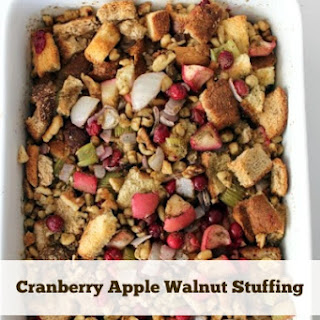 Cranberry Apple Walnut Stuffing