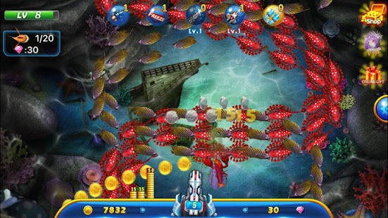 Game fishing war battle of fish apk for windows phone for Battle fish 2