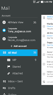 App ASUS Email APK for Windows Phone