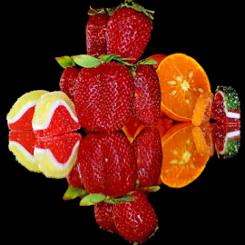 fruits with candys by LADOCKi Elvira - Food & Drink Fruits & Vegetables ( candys, strawberry )