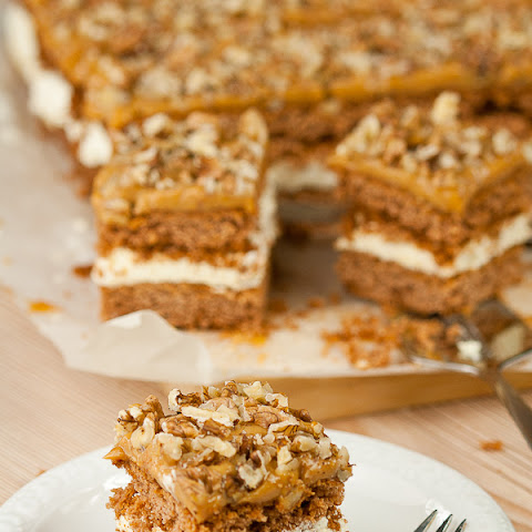 Banana Toffee Cake In Butter Liquid
