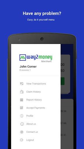 Way2money Merchant screenshot 2