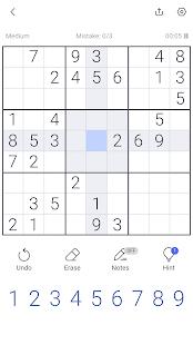 Sudoku - Sudoku puzzle, Brain game, Number game