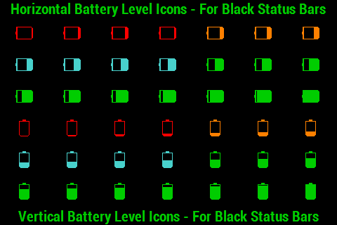 BN Pro Battery Level Icons screenshot 1